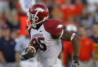 Arkansas Needs WR Greg Childs to Play at Alabama
