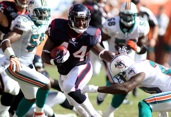 Ben Tate has been explosive in the first two weeks of the season.  Will he continue his success when Arian Foster is healthy?