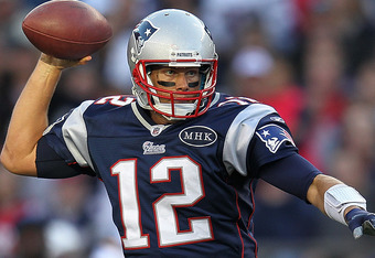 Quarterback Tom Brady has showed no signs of lockout rust so far this season racking up 900+ passing yards so far this season.