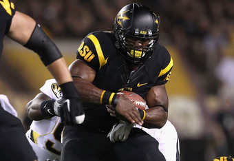 Arizona State RB Cameron Marshall