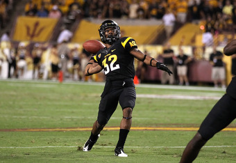 If Marshall doesn't get it going, the Sun Devils may look to Jamaal Miles to take over in the backfield