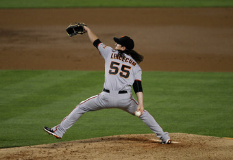 Despite giving up just two runs to the Dodgers Tuesday night, Tim Lincecum took his 13th loss of the season.
