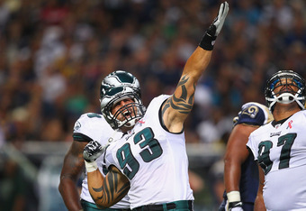 Philadelphia Eagles DE Babin