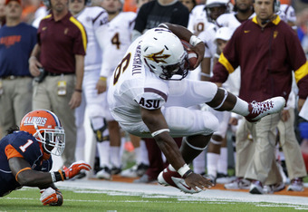 Running back Cameron Marshall is due for a big game, hopefully it comes against USC
