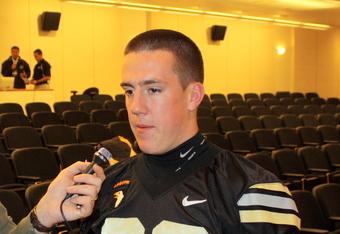 Army Senior Alex Carleton