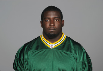 GREEN BAY, WI - CIRCA 2011: In this handout image provided by the NFL, Jay Ross of the Green Bay Packers poses for his NFL headshot circa 2011 in Green Bay, Wisconsin.  (Photo by NFL via Getty Images)