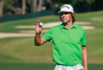 Aaron Baddeley tied for lead at Tour Championship