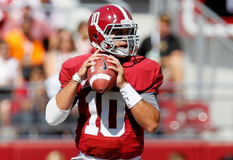 McCarron wins his first SEC start