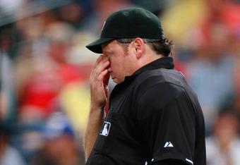 MLB Umpire Paul Schrieber
