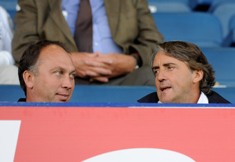 Mancini: needs support from backroom staff and owners