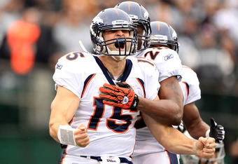 Tim Tebow inspires others, but can he become the best quarterback on the roster?