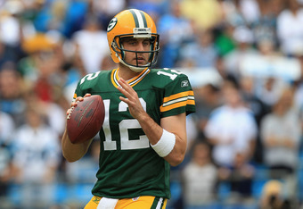 Don't be fooled by the Aaron Rodgers scenario. Most teams don't successfully draft a replacement for their franchise quarterback before he's gone.