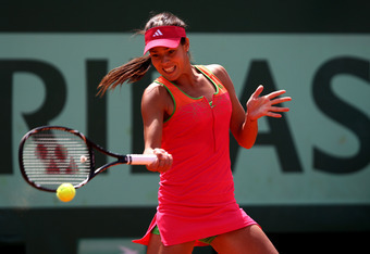 The Ivanovic forehand has lost its potency since winning Roland Garros 2008. At Roland Garros in 2011, she lost first round.