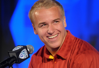 USC QB Matt Barkley's outstanding reputation should have been considered among other factors before the Pac-12 decided to make a public reprimand