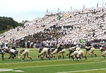West Point Offense at Michie Stadium