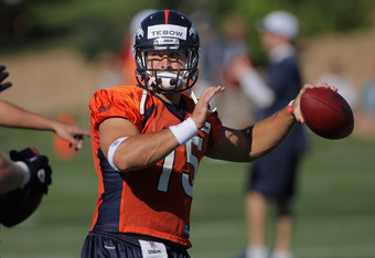 The target and criticism on Tebow has been his throwing motion and mechanics as an NFL quarterback..