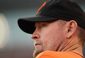 Aubrey Huff's dropoff in production from his 2010 career best came to symbolize the Giants' 2011 offensive woes.