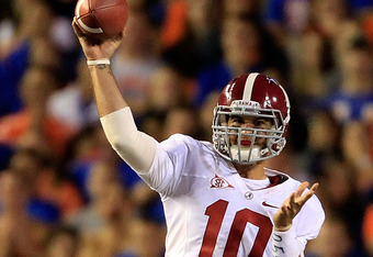 Alabama Quarterback AJ McCarron gets first SEC road win