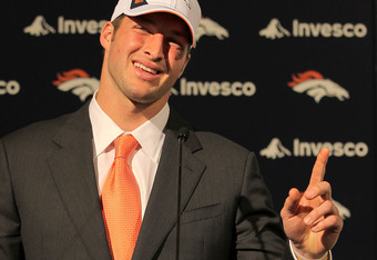 Tim Tebow was a first round pick, but the Broncos gave up a lot to get him and he has yet to step up to the NFL level.