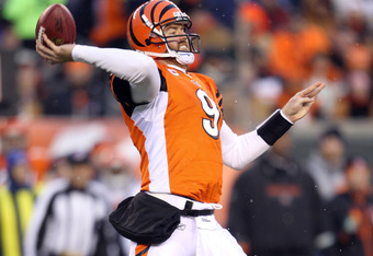 Could Carson Palmer become part of the quarterback equation in Denver now?  Andy Dalton is improving with the Bengals and they need draft picks.