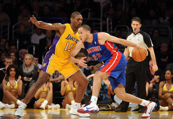 "Ron Artest, ""length"" on defense."