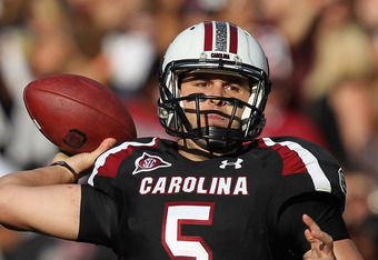 Stephen Garcia has struggled at quarterback. Can the fifth-year senior recover to lead the Gamecocks to a title?
