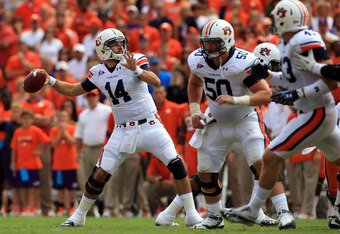Can Barrett Trotter be the difference for Auburn against the Razorbacks?