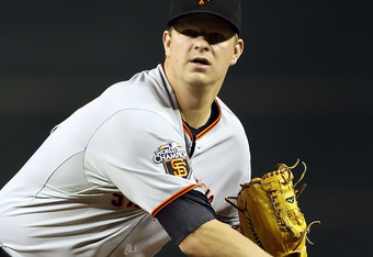 Matt Cain will be a free agent after the 2012 season