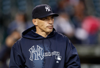 If the Yankee season ends tonight Girardi- not Burnett may face the most intense scrutiny.