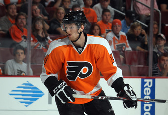 Rookie Sean Couturier's NHL debut may be sooner than expected.