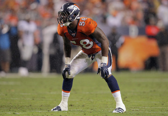 Broncos' rookie OLB Von Miller needs to have a big game for his defense on Sunday.