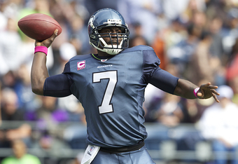 Tarvaris Jackson played well against Atlanta, but can he keep it up against a better N.Y. Giants defence this Sunday?
