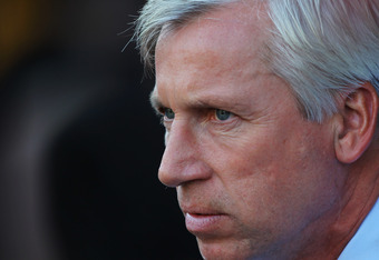 Alan Pardew: Has a Stunning Eye For Detail on the Training Pitch