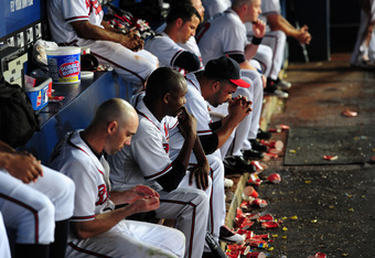 The lethargic Braves let 2011 slip away