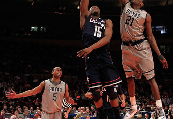 Will Georgetown vs. UConn be an in-conference basketball game in the future?