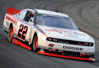 The Discount Tire Dodge Challenger that could be one choice for Reed Sorenson to drive from the Penske Racing stable.