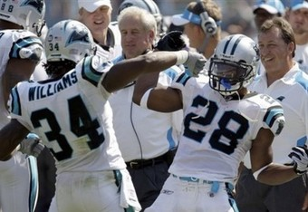 DeAngelo Williams and Jonathan Stewart Have Had Success in a 2 Back System.