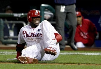 Ryan Howard's injury will affect the Phillies 2012 season.