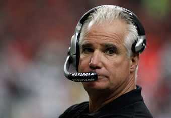 Mike Smith's headset emphasizes everything that is wrong about his coiffure.