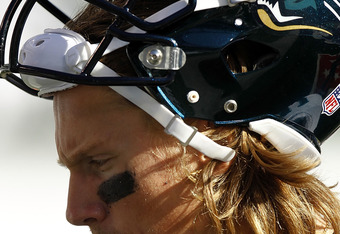Under that mane lies the potentially very valuable brain of Jacksonville's starting quarterback