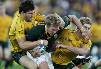 A quarterfinal win that was testimony to Australia's defence
