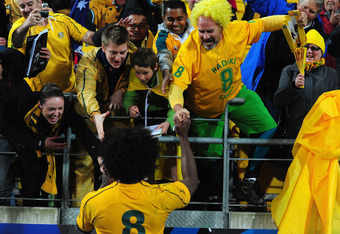 Wallaby fans delighted with their team's quarterfinal heroics
