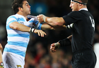 Argentina offered good resistance to the potent All Black offence