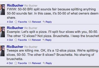 Ric Bucher BRI Tweets