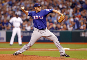The Rangers will turn to Colby Lewis to have another great postseason start