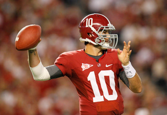 Alabama quarterback AJ McCarron, if he is up to it, may be the hidden x-factor for the Crimson Tide