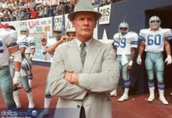 Cowboys Hall of Fame Coach Tom Landry