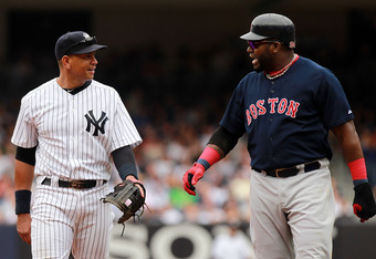 If Big Papi goes to the Bronx, he'll have to share time at DH with A-Rod.