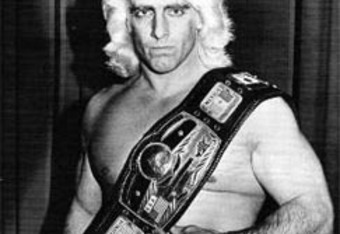 Ric Flair as the NWA Champion. Source - down-for-the-count.webs.com