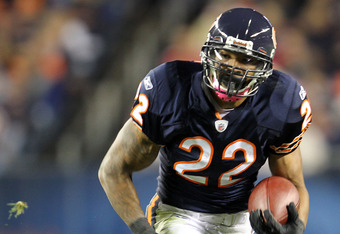 1/2 of the Bears Offense